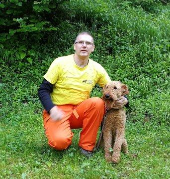Robert Jančič (aktiven vodnik) in Ari