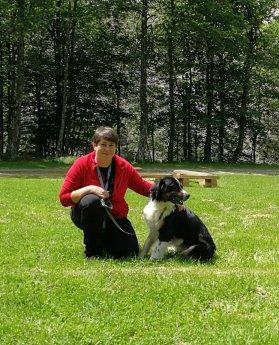 Marina Valjavec (vodnica pripravnica) in Ron (IRP-PO1)